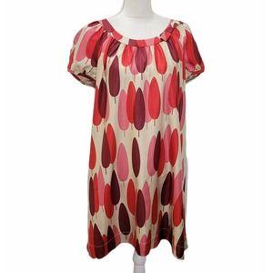 Orla Kiely Silk Dress Retro MCM Print 4